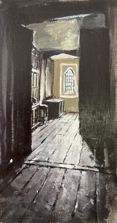 Matthew Wood, Gwydir Castle - View past the Ghost Room