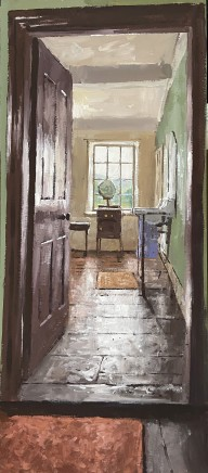 Matthew Wood, FE Anderson Antique - View to the Bathroom
