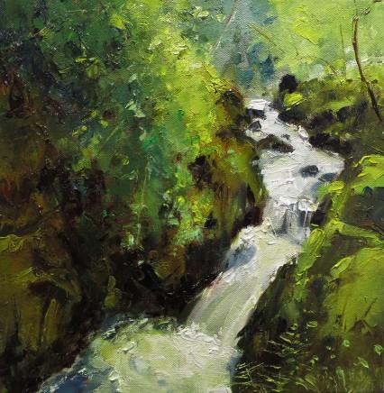 David Grosvenor, Waterfall, Llanberis