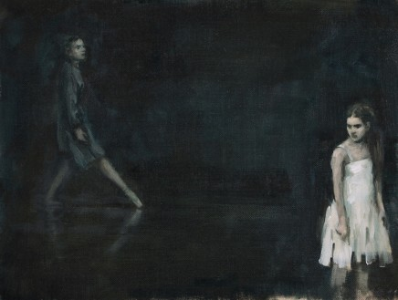 Carl Chapple, 'Lady Capulet & Juliet' - Beth Meadway & Danila Marzilli rehearsing Romeo & Juliet (Ballet Cymru Rehearsal 164)