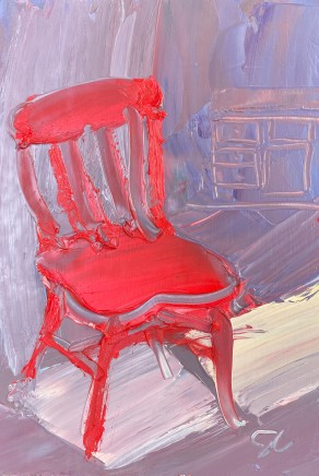 Sarah Carvell, Red Chair