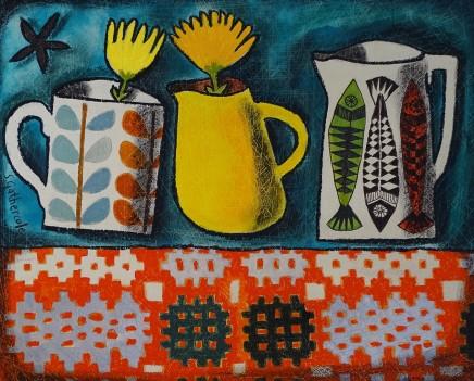 Susan Gathercole, Last Two Marigolds