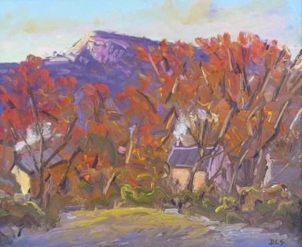 David Lloyd Griffith, Houses, Rhyd y Foel - Autumn