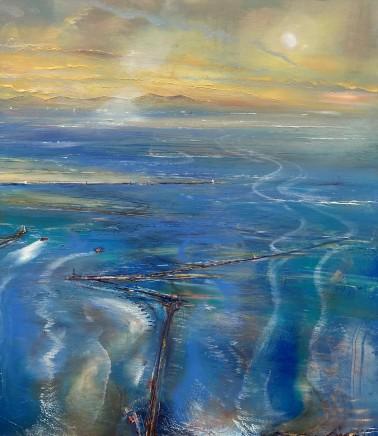 Iwan Gwyn Parry, Early Morning Light Aberdyfi Point