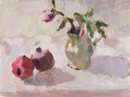 Lynne Cartlidge, Hellebores with Pomegranates