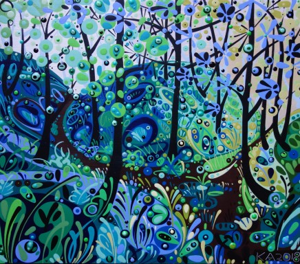Katie Allen, Nicholaston Woods, Summer. Study II