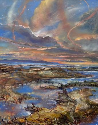 Iwan Gwyn Parry, High Tide at Cymyran Bay