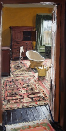 Matthew Wood, Bath Tub in Bedroom