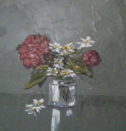 Martin Llewellyn, Hydrangeas in a Jar