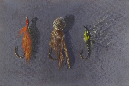 Kim Dewsbury, Three Flies I