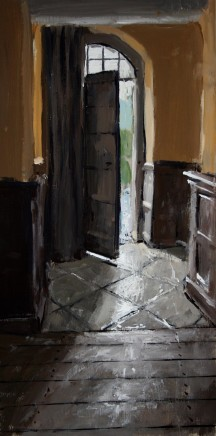 Matthew Wood, Gwydir Castle. Doorway from the Hall of Justice