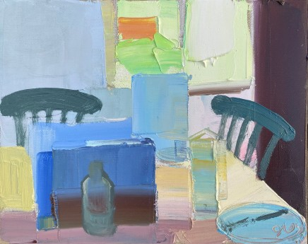 Sarah Carvell, Spring Breakfast, Two Chairs