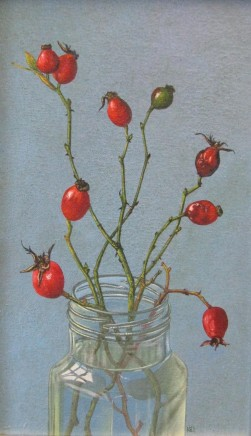 Kim Dewsbury, Rosehips in a Jar II