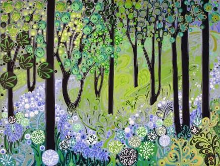 Katie Allen, Woodland Study I