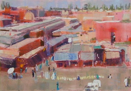 Anne Aspinall, The Souks, Marrakech
