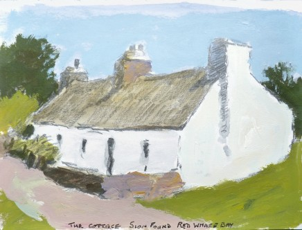 Donald McIntyre, The Cottage Sion Found, Red Wharf Bay