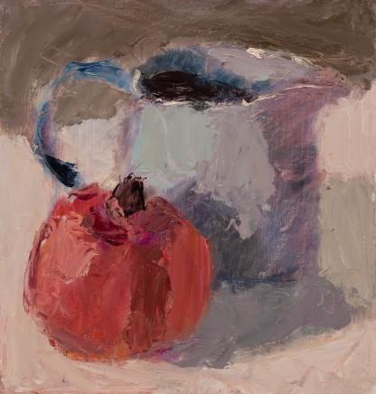 Lynne Cartlidge, Pomegranate and a Blue Jug