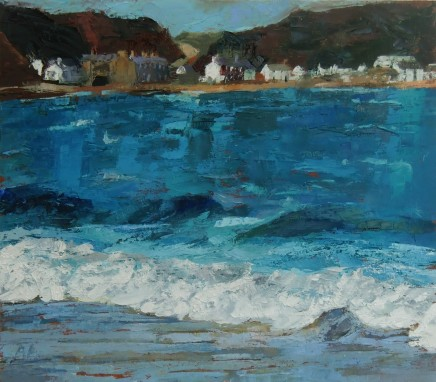 Anne Aspinall, Porthdinllaen across the Water