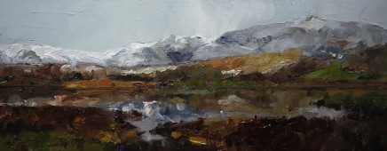David Grosvenor, Snowdon from Llyn y Gadair