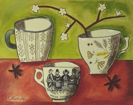 Susan Gathercole, Hawthorne and Teacups