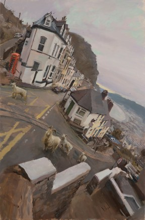Rob Pointon, Goats heading up the Orme, Llandudno