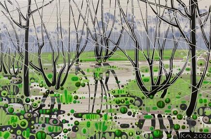Katie Allen, Oxwich Marsh, Winter - Study I