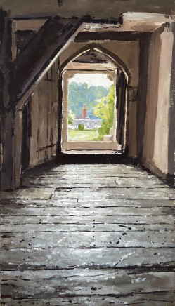 Matthew Wood, Stokesay Castle - View from the Solar Tower