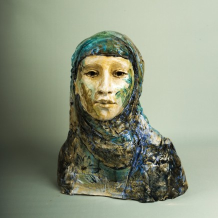 Sharon Griffin, Woman in a Blue Veil