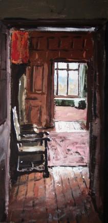 Matthew Wood, Vaynor - Hall with Chair