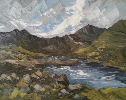 Martin Llewellyn, Across Llyn Llydaw Lake