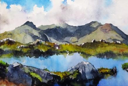 David Grosvenor, Snowdon from Cribau