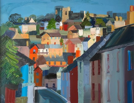 Sarah Carvell, End of the Day on Henllan Street