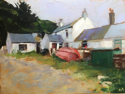 Anne Aspinall, Red Boat, Porthdinllaen