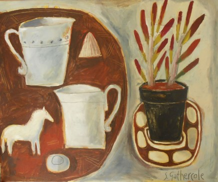 Susan Gathercole, Venetian Red Still Life