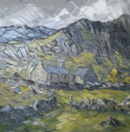 Martin Llewellyn, Farmhouse and Mountains