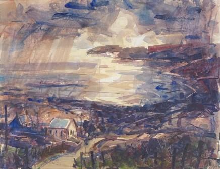 Gareth Parry, Hen Gapel, Y Ffordd ar y Môr / Old Chapel, The Road to the Sea