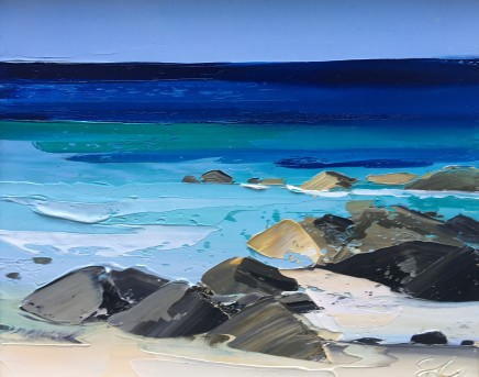Sarah Carvell, Bright Day at the Beach