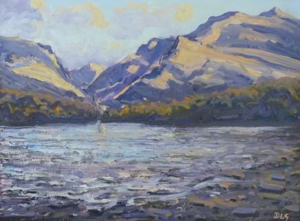 David Lloyd Griffith, Snowdon and Llyn Padarn, Early Evening
