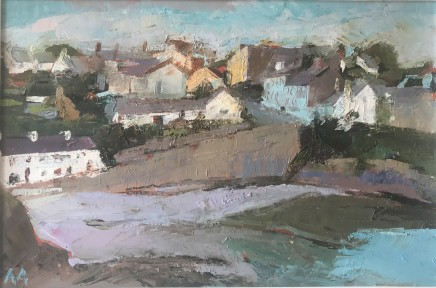 Anne Aspinall, Moelfre from the Coastal Path