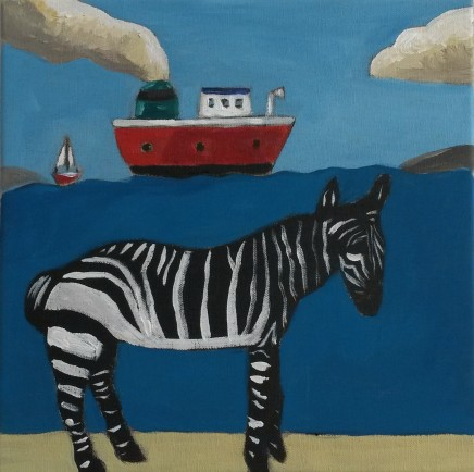 Emrys Williams, Zebra Sur Mer