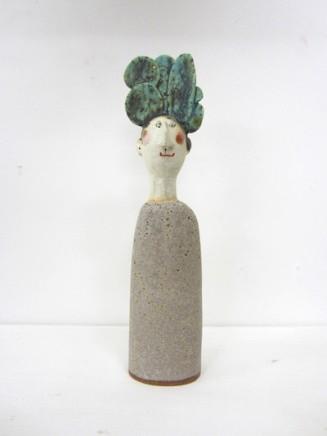 Jane Muir  Tree Head  Ceramic  29 x 8 x 4 cm