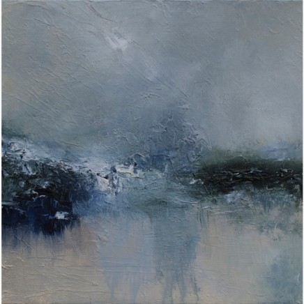 Debra Royston Beautiful Tears Mixed media on Canvas 60 x 60 cm