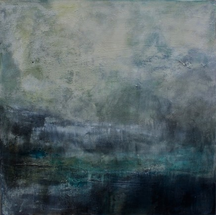 Debra Royston Storm Mixed media on canvas 76 x 76 cm