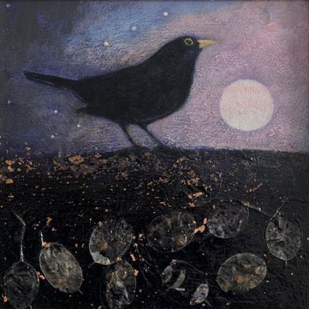Catherine Hyde The Brightening Dawn, 2018 Acrylic on canvas 30.5 x 30.5 cm