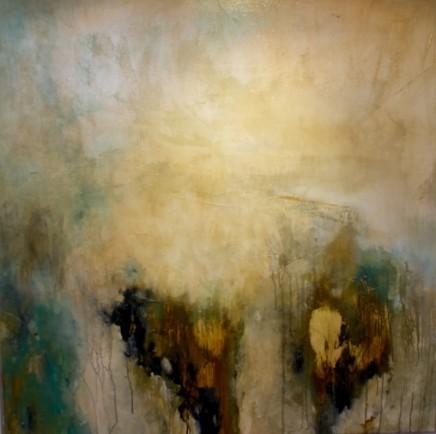 Debra Royston Without Mixed media on Canvas 80 x 80 cm