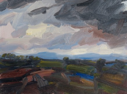 Robert Newton Up North Oil on canvas 30 x 40 cm