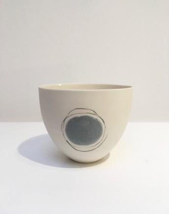 Ali Tomlin, Blue and white circular bowl