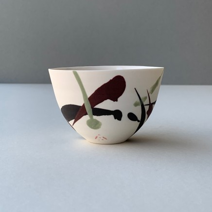 Ali Tomlin Small Cup / Bowl - Berry Splash Porcelain