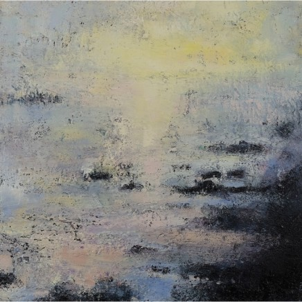Nicola Rose Timeless Oil and sand on canvas 61 x 61 cm