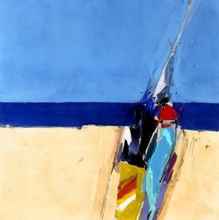 Donald Hamilton Fraser RA, Summer Beachscape